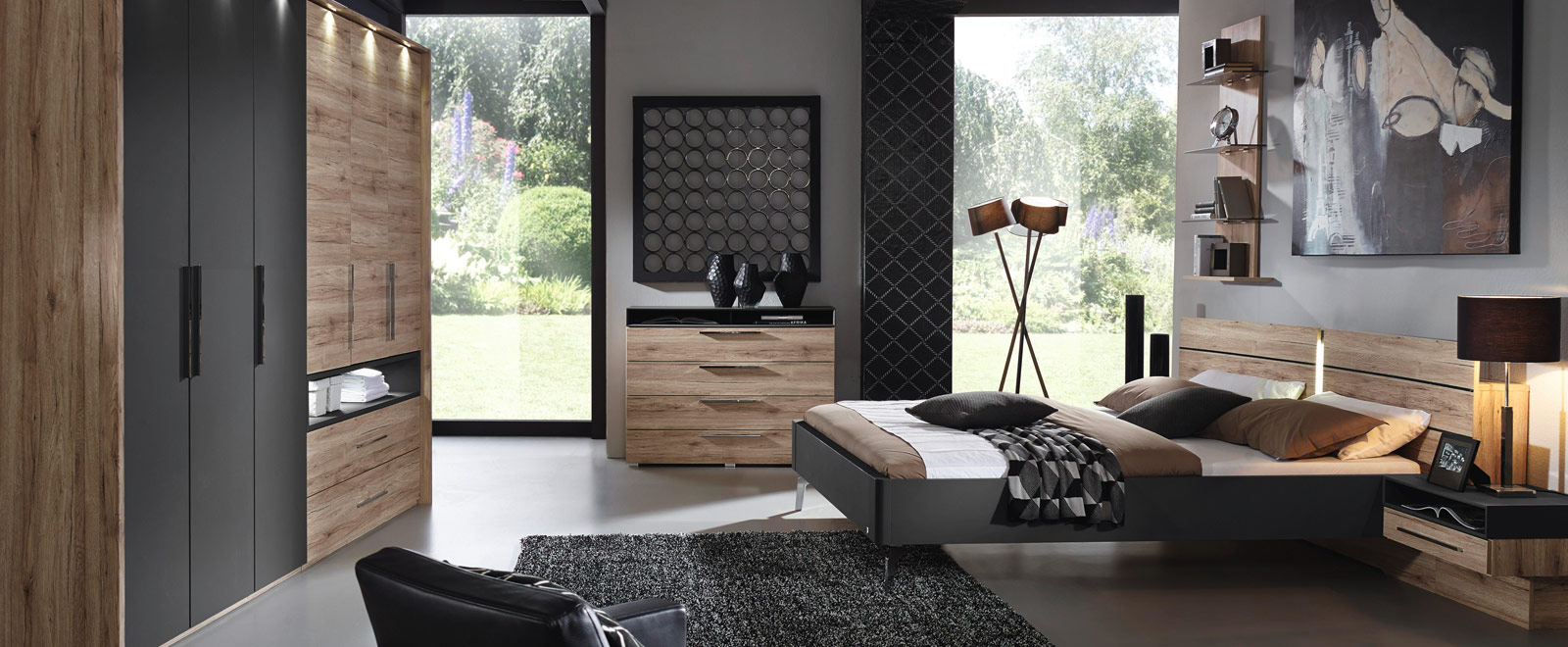 rauch m bel schlafzimmer. Black Bedroom Furniture Sets. Home Design Ideas